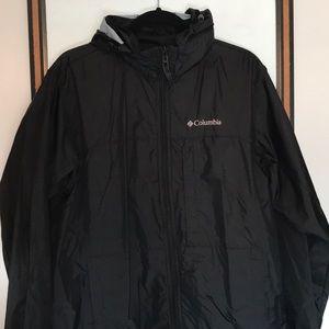 Unisex Columbia rain jacket